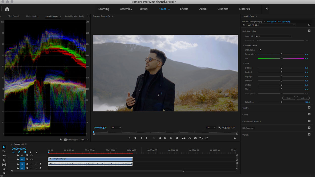 Lumteri Color in Adobe Premiere Pro