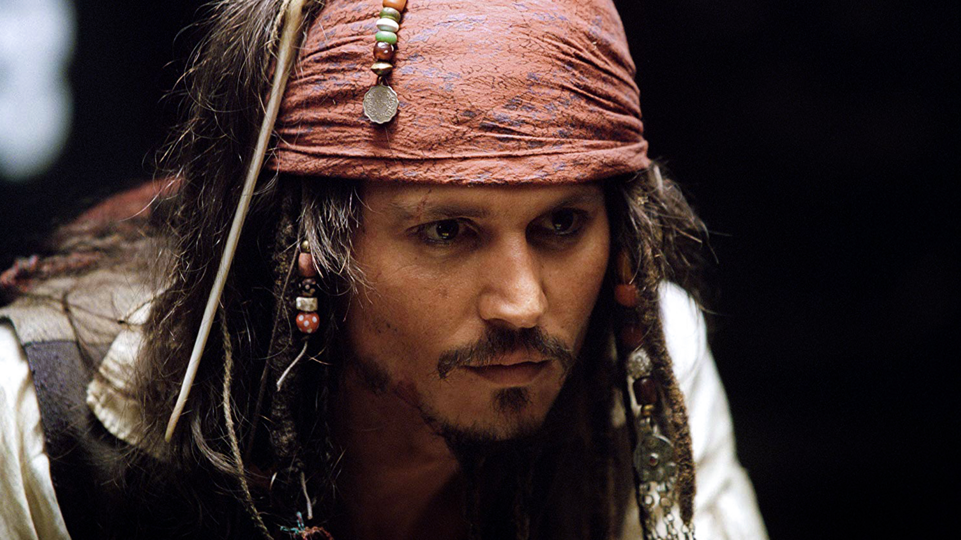 Captain-Jack-Sparrow-in-the-Pirates-of-the-Caribbean