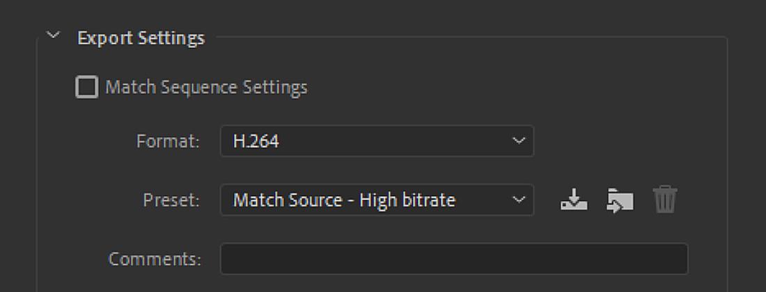 File-Format-preset