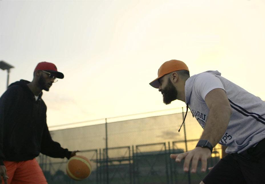 action-sport-filming-medium-shot