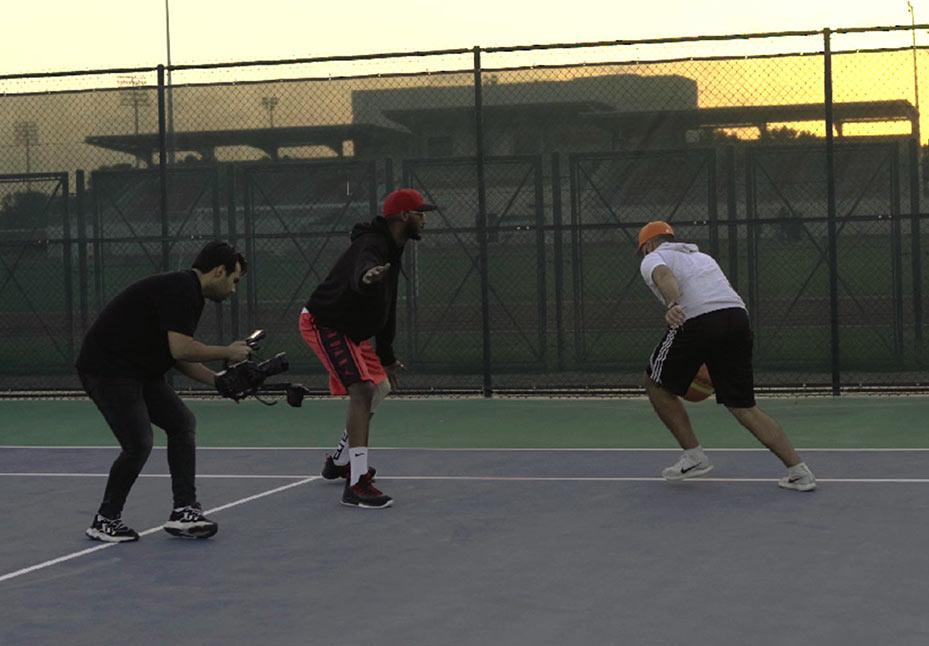 action-sport-filming-wide-shot