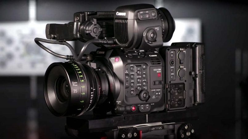 Canon EOS C500 Mark II | 5.9 K Full-Frame Cinema Camera